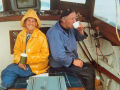 Pat-Smith-the-famous-lady-sharker-and-Alan-Dingle-aboard-Lady-Betty