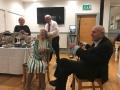 Pat Smith and Alan Dingle